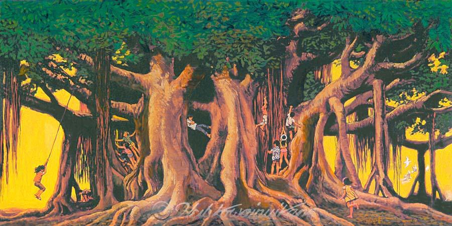 essay on banyan tree for kids