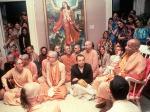 Srila Prabhupada withdevotees