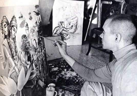 Krishna Conscious Artist