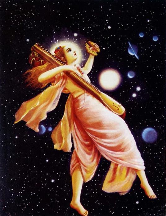Narada Muni Transcendental Spaceman