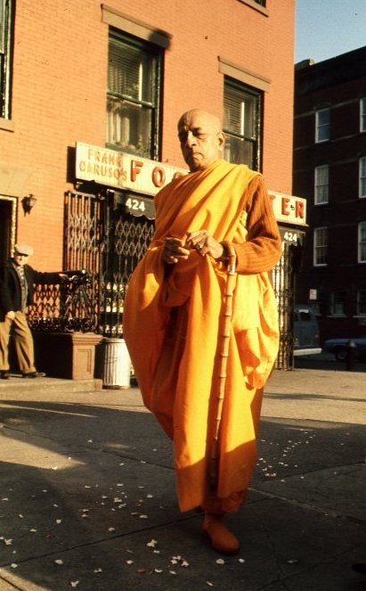 Srila Prabhupada on the Bowery