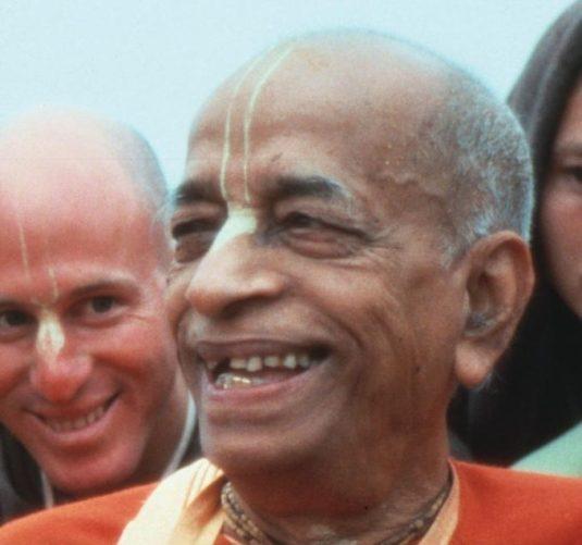 Srila Prabhupada smiling