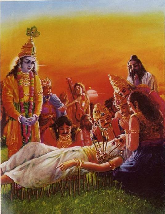 The Passing Away of Bhismadeva