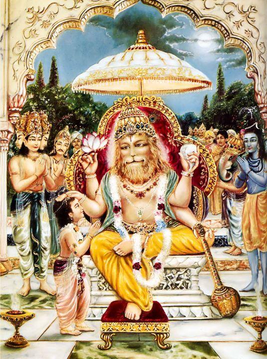 Sri Nrsimha-pranama