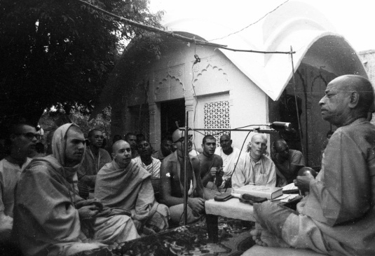Nectar of Devotion Lectures 1972 Vrindavan