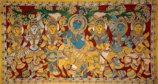 The Gopis Attracted by the Flute