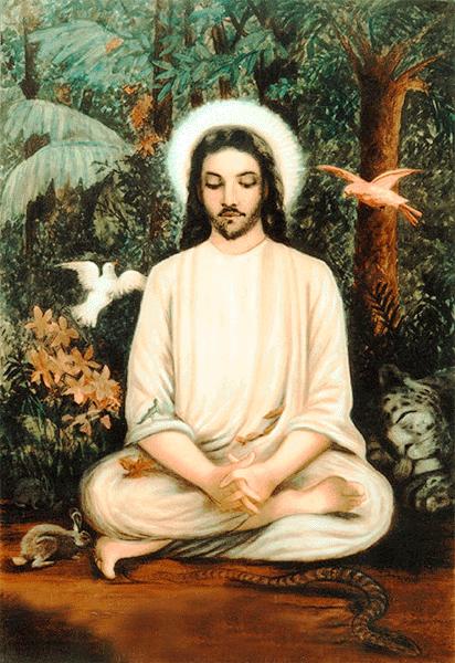 Jesus in meditation