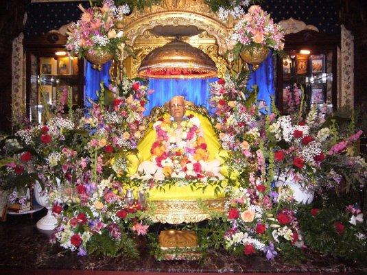 Prabhupada's Vyasasana