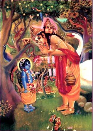 Prayers Offered by Lord Brahma to Lord Krsna