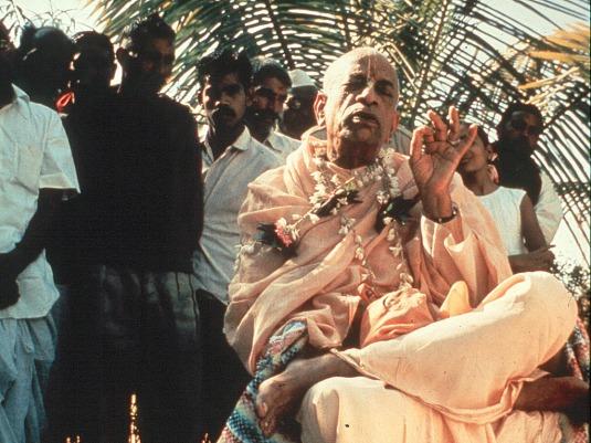 Srila Prabhupada speaking