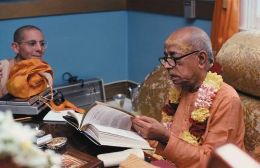 Srila Prabhupada with Ramesvara