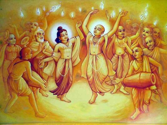 Lord Caitanya's Sankirtan Party