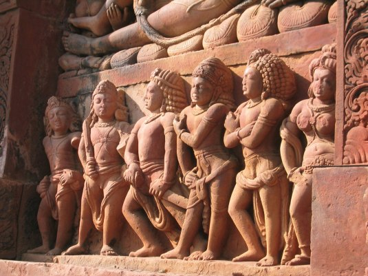 Five Pandavas and Drapadi