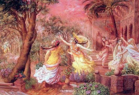 Gopis feelings of Separation
