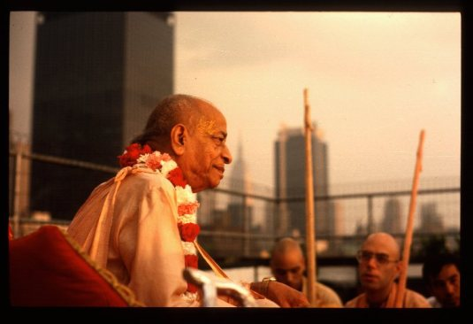 Srila Prabhupada in New York