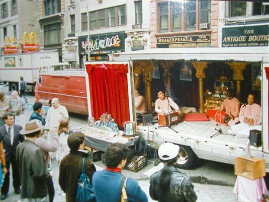 Harinam Truck in NYC