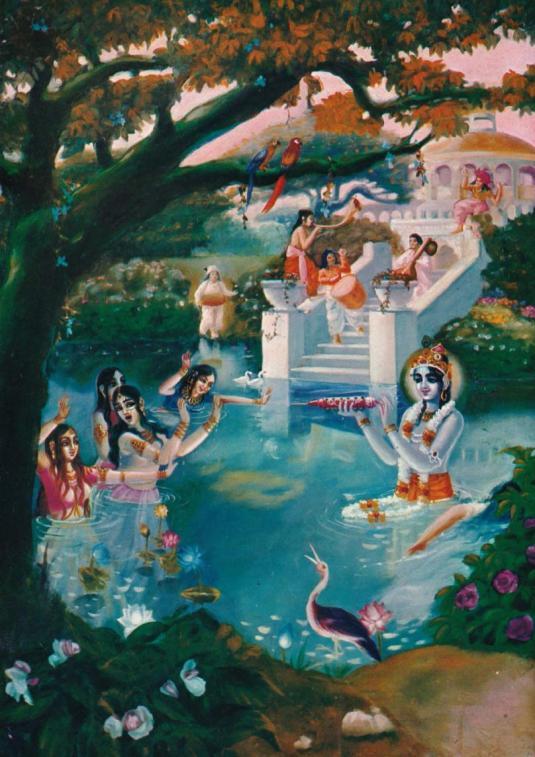 Krishna Pastimes
