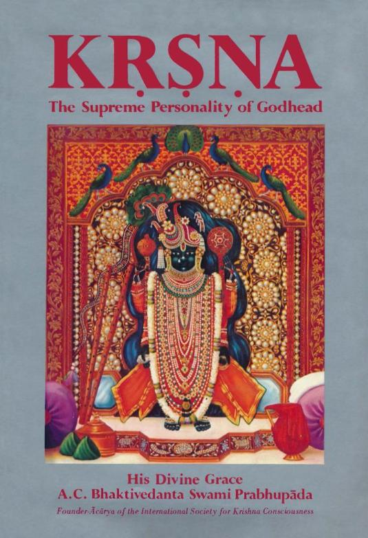 Krsna Book Vol. 2 cover