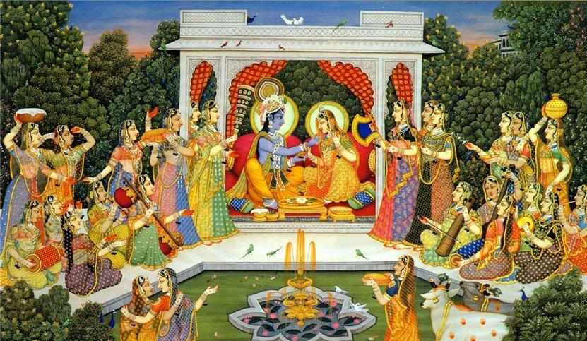 B.G. Sharama Krishna & the Gopis