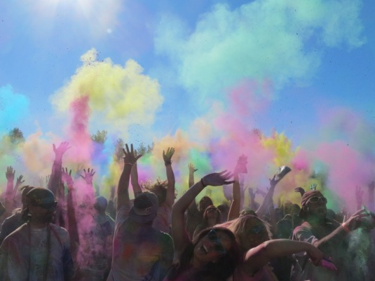 Festival of Colors New Vrindavan