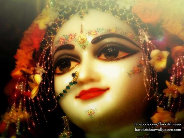 Srimati Radharani's beauty1