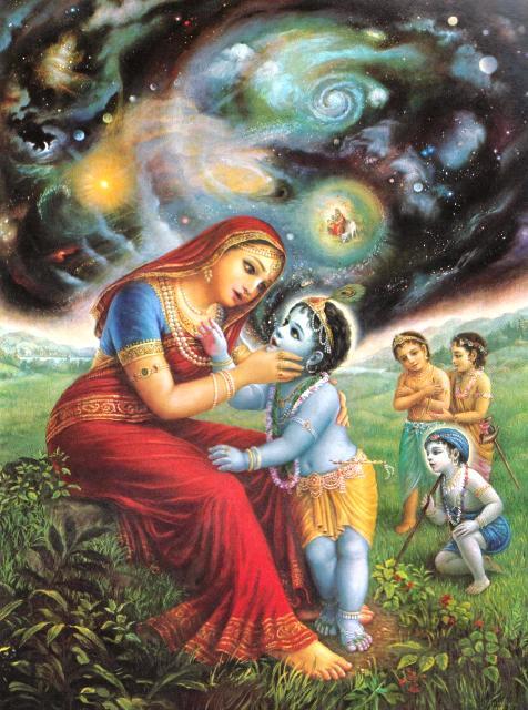 Krishna eating dirt1