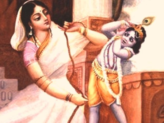 Mother Yasoda & Krishna1
