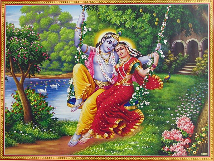 Radha The Hare Krishna Movement