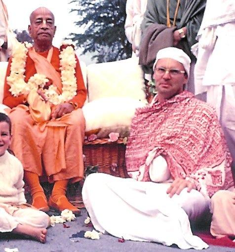 Rupanuga-Prabhu and Srila Prabhupada