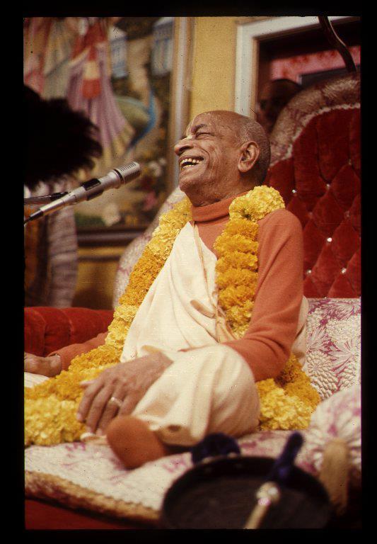 Laughter from the Vyasasana