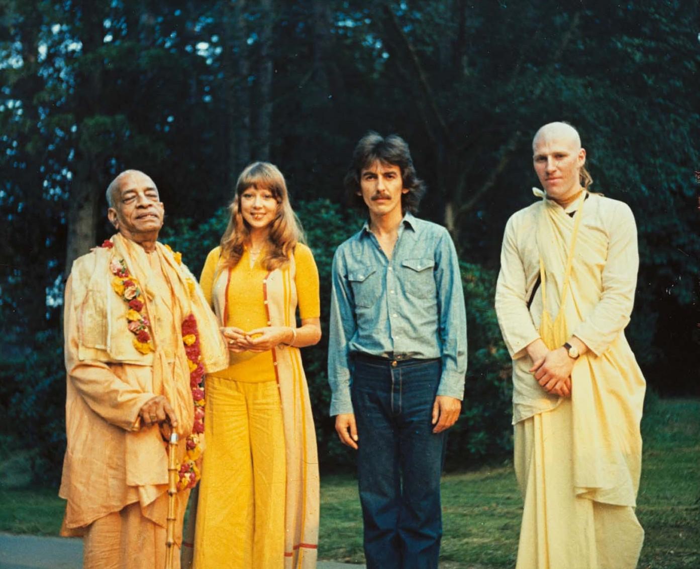 George-Harrison-and-Srila-Prabhupada