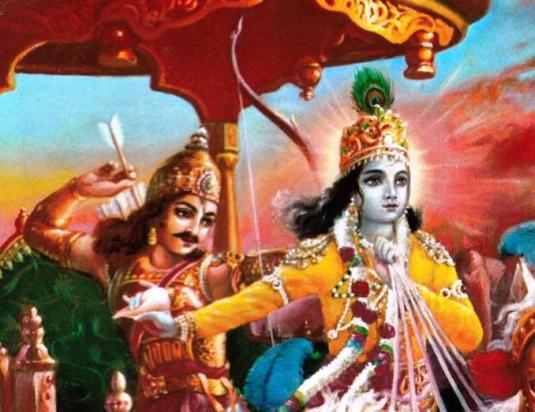 Krsna and Arjuna on Battlefield3