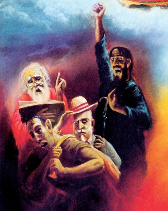 Four kinds of impious men