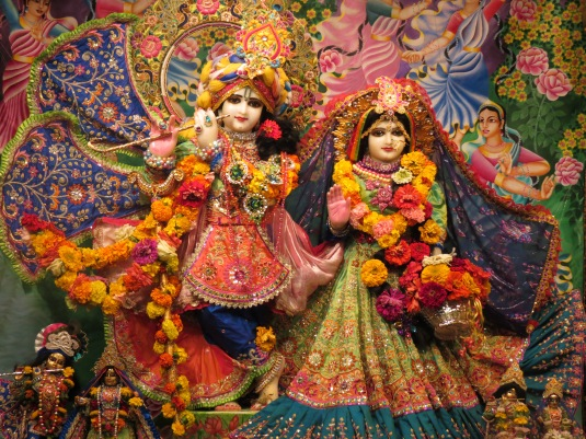 Radha Vrndavan Chandra 2014 Ratha Yatra @ New Vrindavan 067