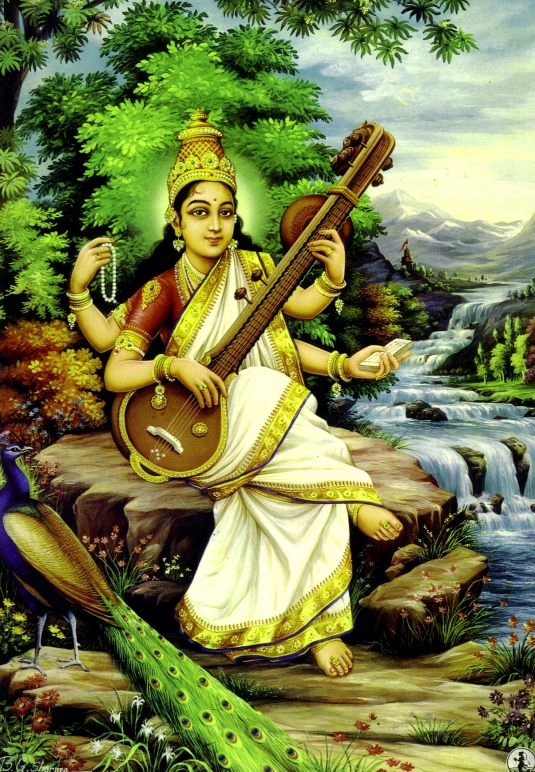 Sarasvati the Goddess of Learning