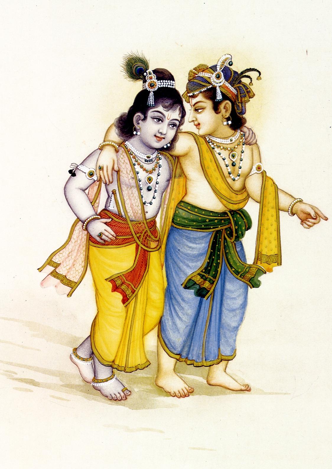 Krsna and Balarama