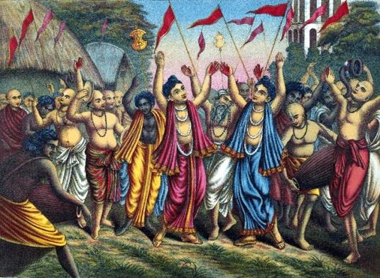 Lord Caitanya and Nityananda