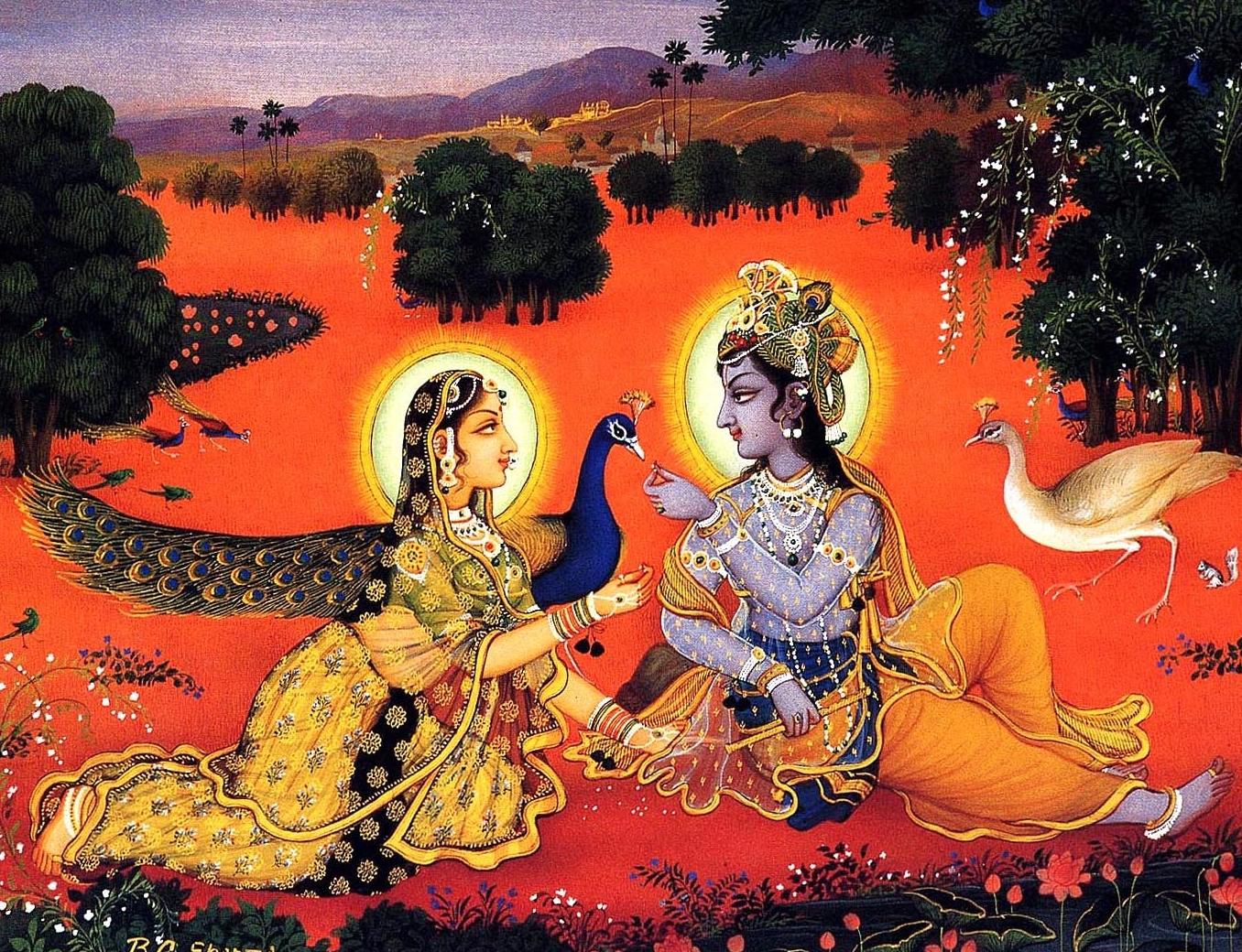 Radha Krsna Art of Sharma