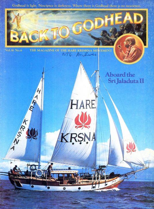 Sailing Back to Godhead 166_-_BTG_Year-1981_Volume-16_Number-06_Page_01