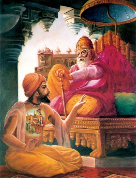 Dhrtarastra inquires from Sanjaya