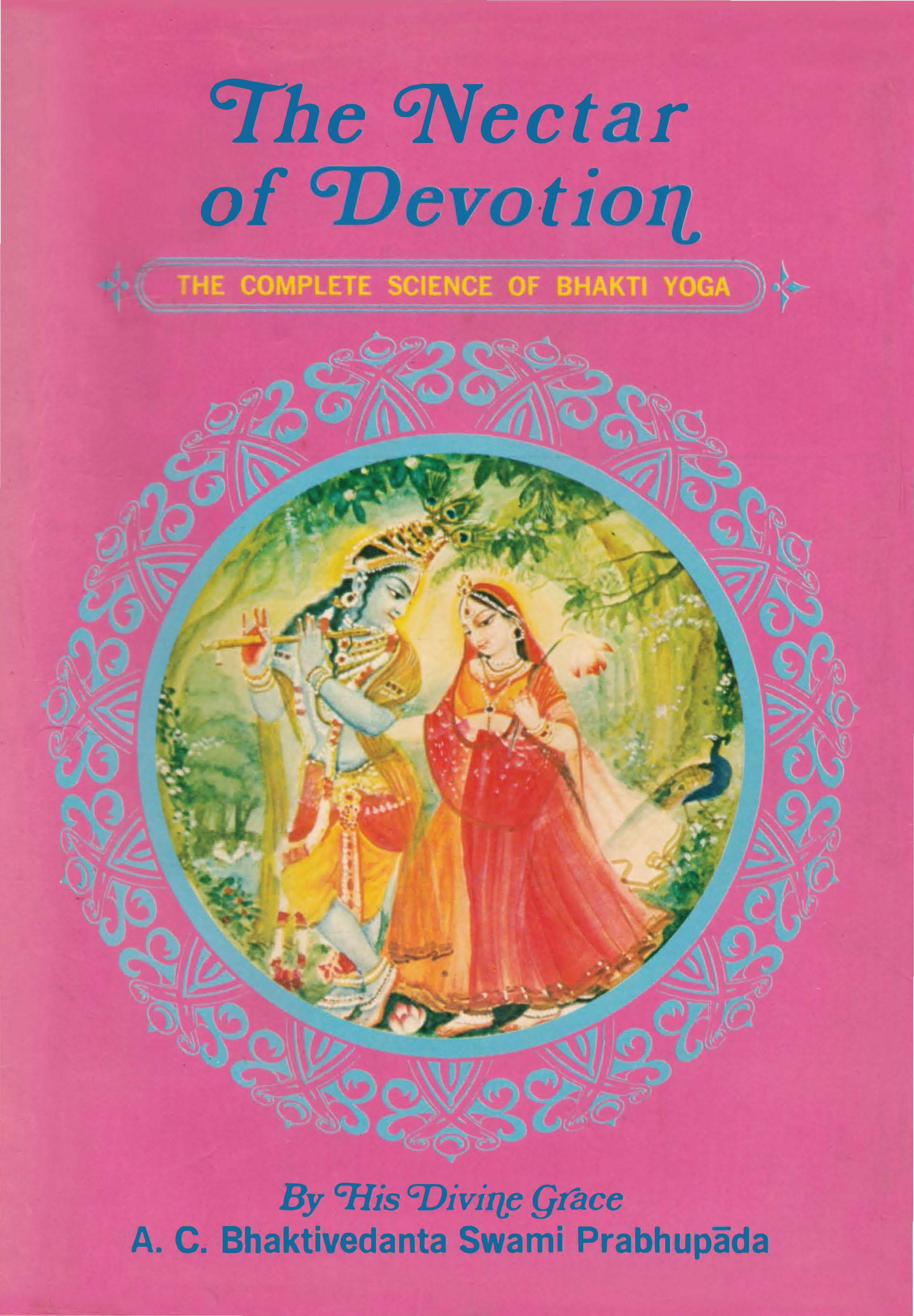 The Nectar of Devotion - 1970 ISKCON press edition SCAN