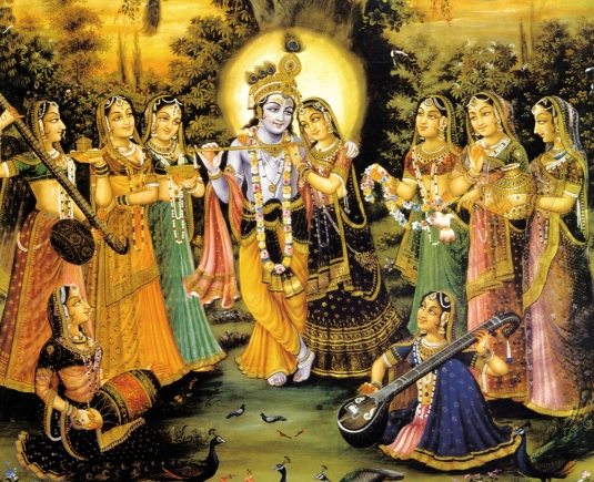 gopis of vrndavan