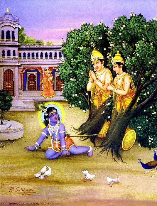 Krishna childhood pastimes