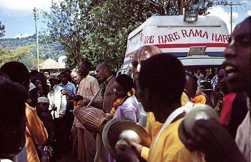 African devotees