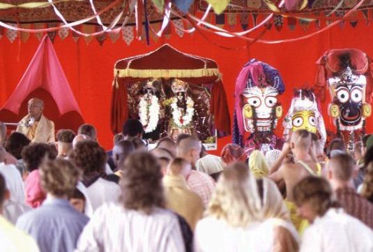 bhagavata dharma discourses at new vrindavan