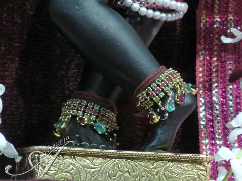 Radha Ramana Lotus feet