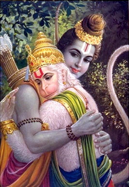 Rama & Hanuman