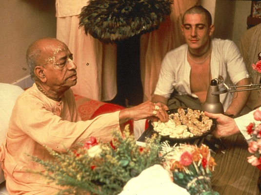 offering to the spiritual master