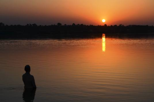 River Ganga at Sunrise