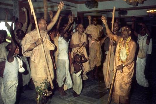 Srila Prabhupada  Arival